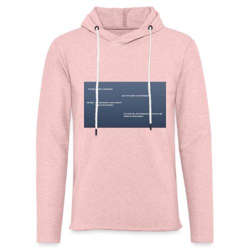 Running joke t-shirt - Light Unisex Sweatshirt Hoodie