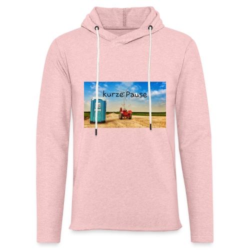 kurze Pause - Leichtes Kapuzensweatshirt Unisex