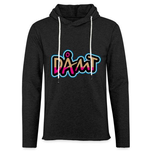 DÅMT - Let sweatshirt med hætte, unisex
