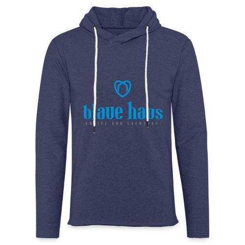 Blaue Haus Logo - Leichtes Kapuzensweatshirt Unisex