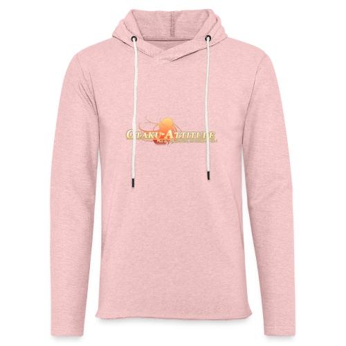 logo oa v3 v1 fond clair - Sweat-shirt à capuche léger unisexe