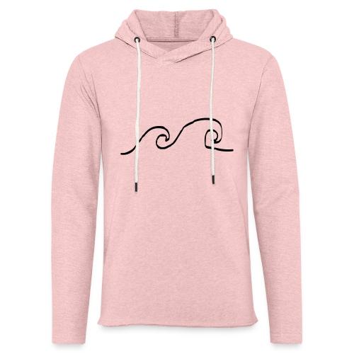Waves - Lichte hoodie unisex