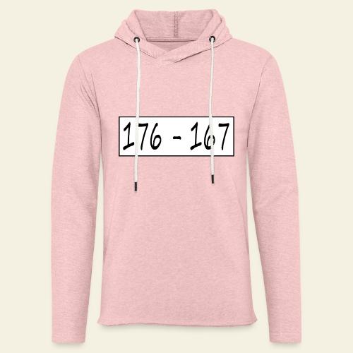 176167 - Let sweatshirt med hætte, unisex