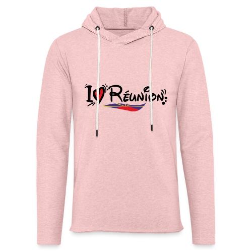 i love Réunion - MAHAVELI - Sweat-shirt à capuche léger unisexe