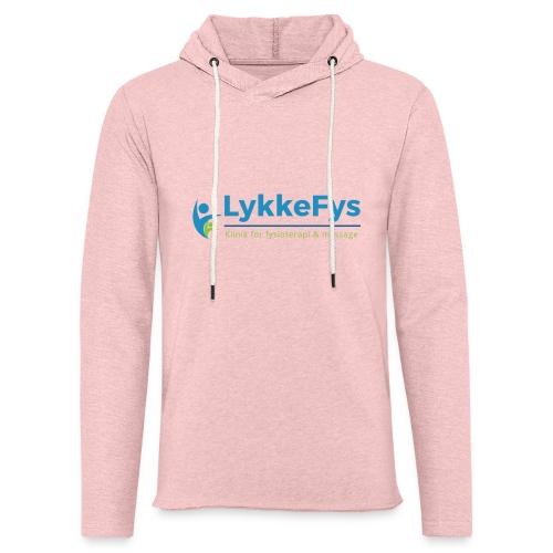 Lykkefys Esbjerg - Let sweatshirt med hætte, unisex