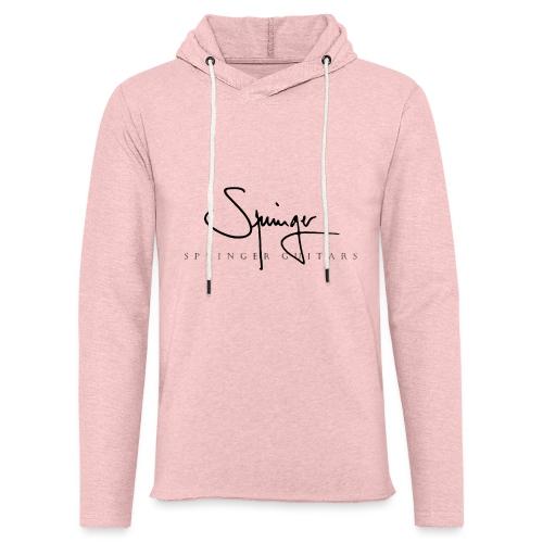 Logo Springer Guitars - Sweat-shirt à capuche léger unisexe