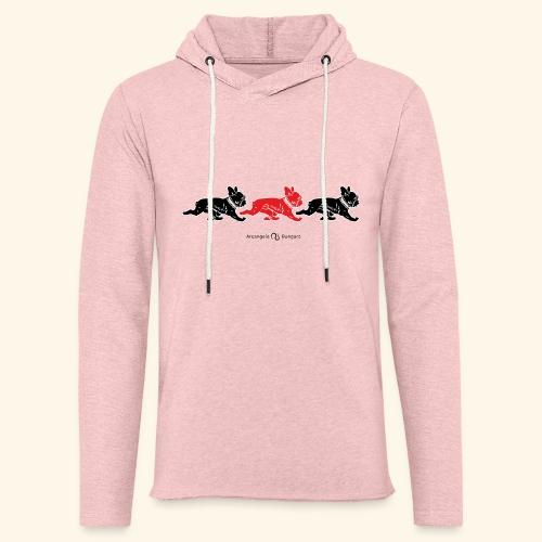 frenchies BR - Sweat-shirt à capuche léger unisexe