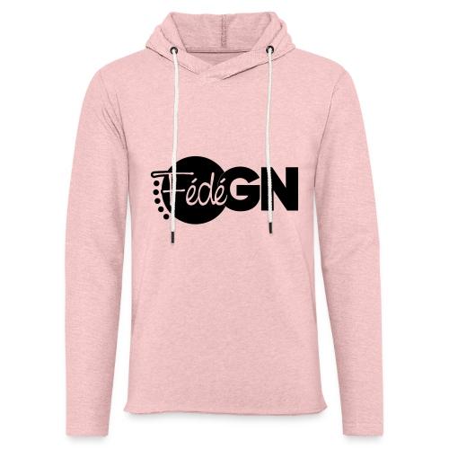 Logo FédéGN pantone - Sweat-shirt à capuche léger unisexe