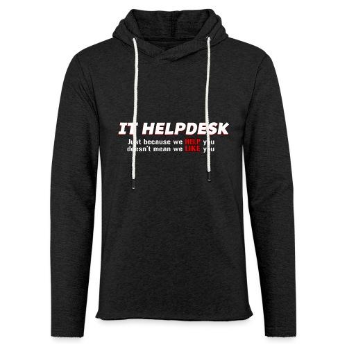 I.T. HelpDesk - Light Unisex Sweatshirt Hoodie