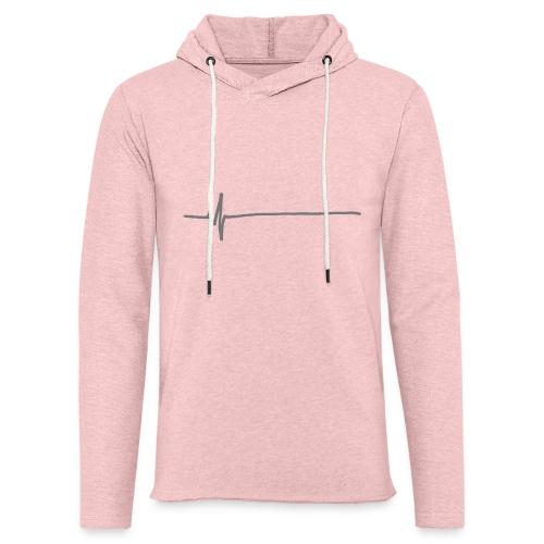Flatline - Light Unisex Sweatshirt Hoodie