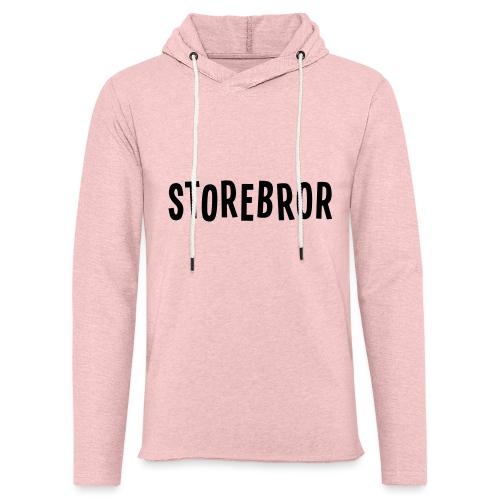Storebror - Lett unisex hette-sweatshirt