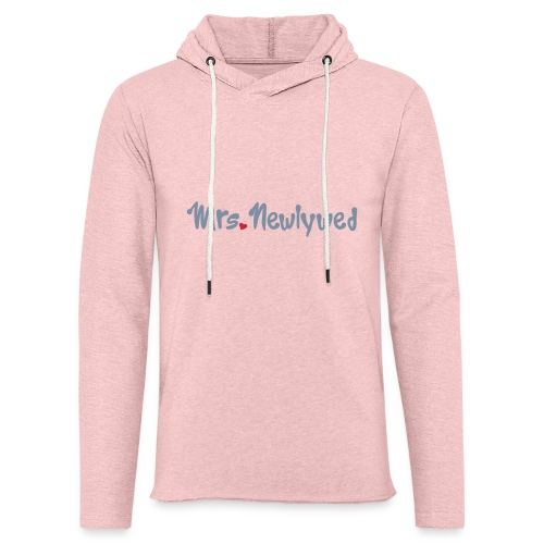 Mrs Newlywed - Light Unisex Sweatshirt Hoodie