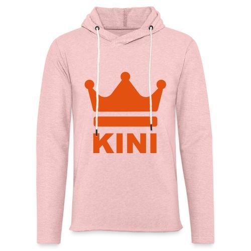 KINI ist König - Leichtes Kapuzensweatshirt Unisex