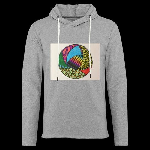 circle corlor - Let sweatshirt med hætte, unisex