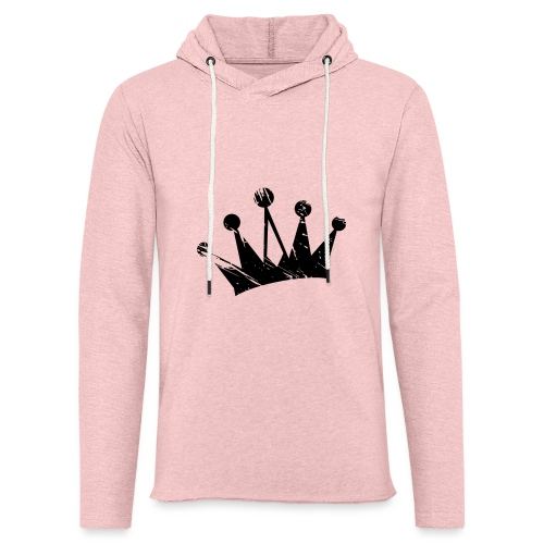 Faded crown - Light Unisex Sweatshirt Hoodie