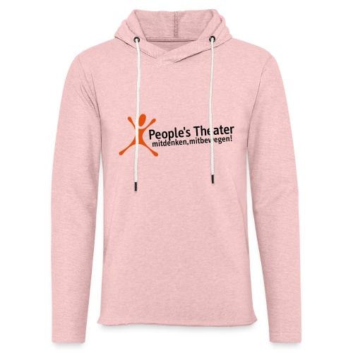 People's Theater Logo - Leichtes Kapuzensweatshirt Unisex