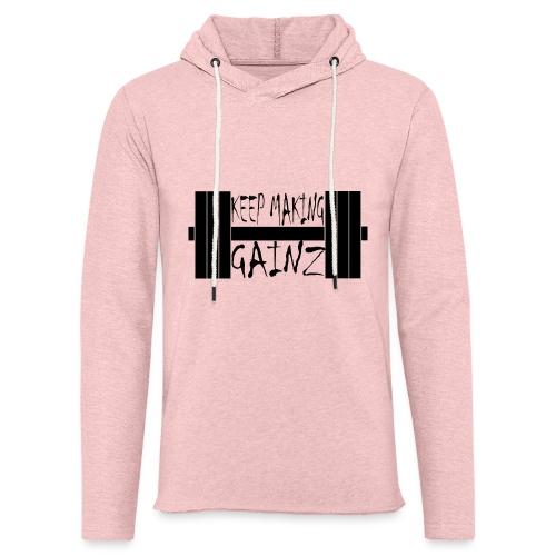 Weight + Text - Light Unisex Sweatshirt Hoodie