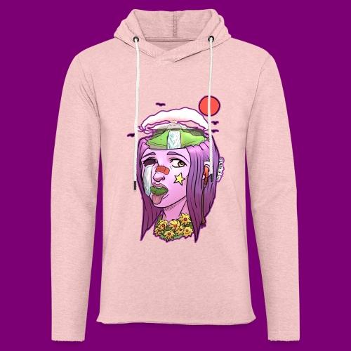 Pink Girl - Lichte hoodie unisex