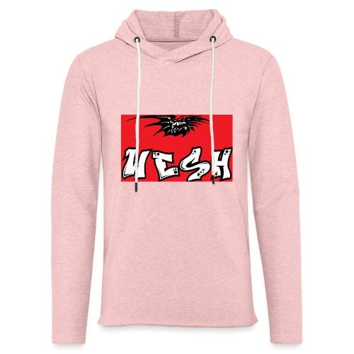Wesh - Sweat-shirt à capuche léger unisexe