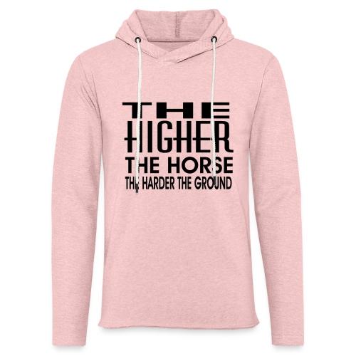 hoch2 - Leichtes Kapuzensweatshirt Unisex