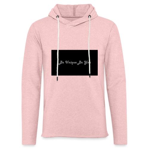 Be yourself - Light Unisex Sweatshirt Hoodie