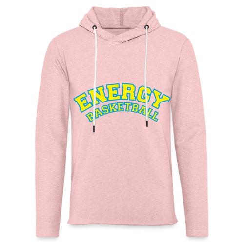 eco logo energy basketball giallo - Felpa con cappuccio leggera unisex