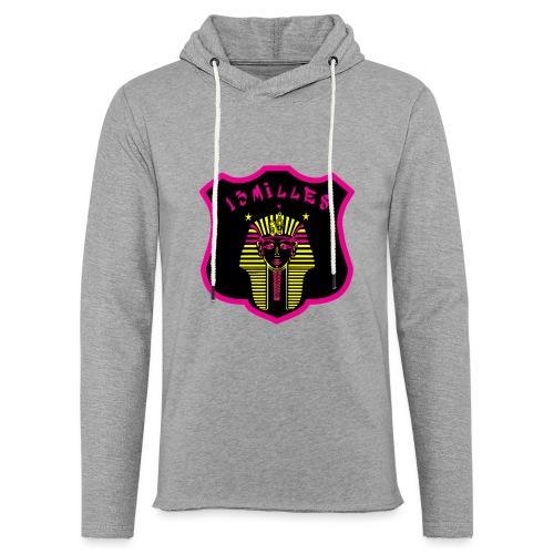 Pharaon Noir, Rose, Jaune hyper design - Sweat-shirt à capuche léger unisexe