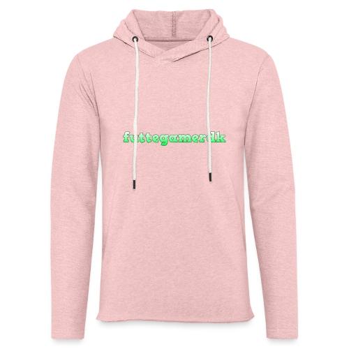 futtegamerdk trøjer badge og covers - Let sweatshirt med hætte, unisex