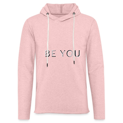 BE YOU Design - Let sweatshirt med hætte, unisex