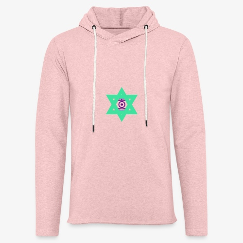 Star eye - Light Unisex Sweatshirt Hoodie