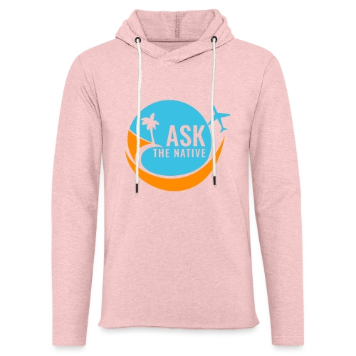 Ask the Native Original Logo - Lichte hoodie unisex