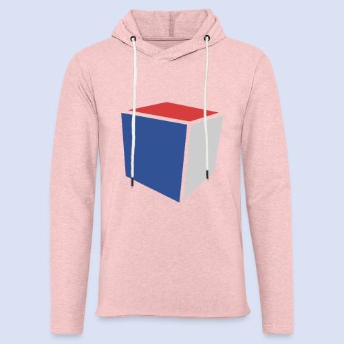 Cube Minimaliste - Sweat-shirt à capuche léger unisexe