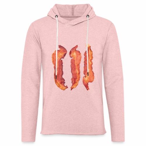 Bacon Strips - Felpa con cappuccio leggera unisex