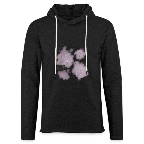 Violet splash chinchilla 2 - Kevyt unisex-huppari