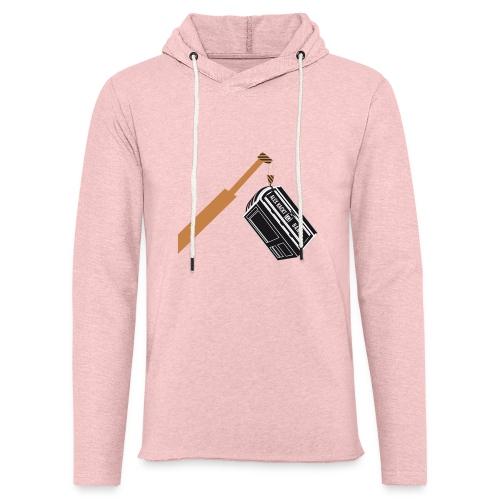 AKUB - Leichtes Kapuzensweatshirt Unisex