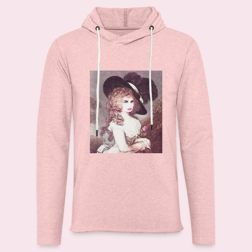 Self portrait - Let sweatshirt med hætte, unisex