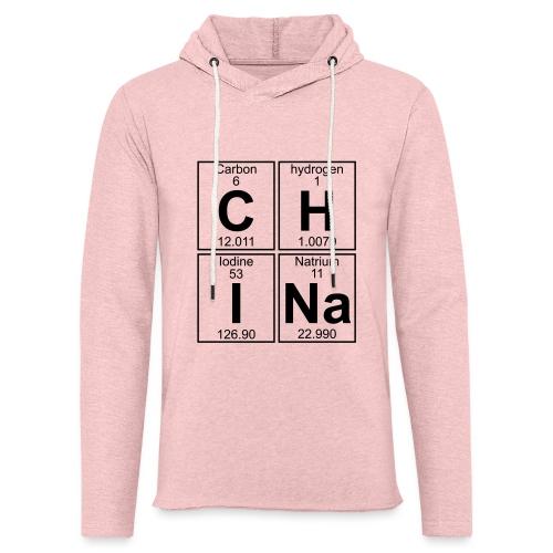 C-H-I-Na (china) - Full - Light Unisex Sweatshirt Hoodie