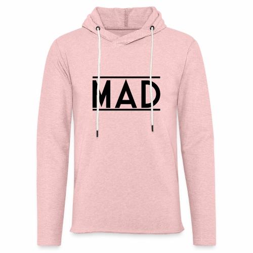 MAD - Felpa con cappuccio leggera unisex