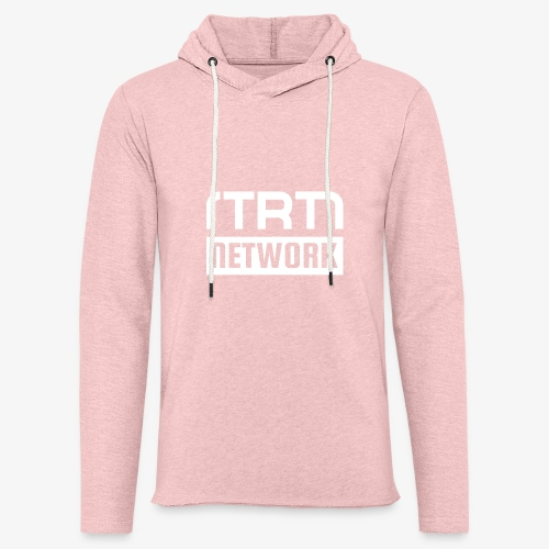 NTRTN - Bar white - Leichtes Kapuzensweatshirt Unisex