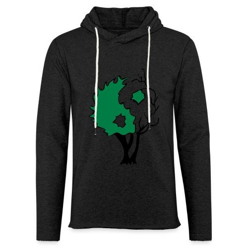 Yin Yang Arbre - Sweat-shirt à capuche léger unisexe