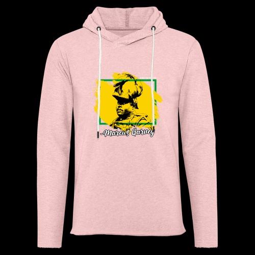 MARCUS GARVEY by Reggae-Clothing.com - Leichtes Kapuzensweatshirt Unisex