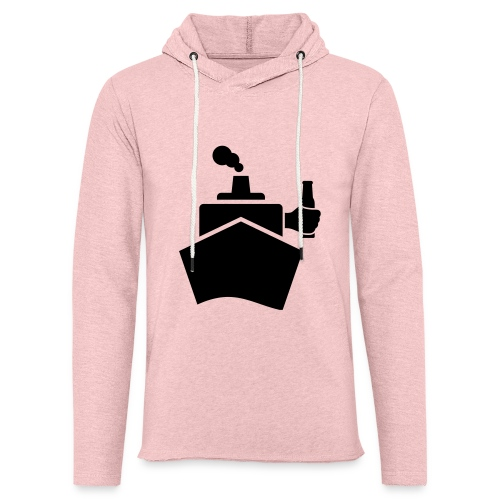King of the boat - Leichtes Kapuzensweatshirt Unisex