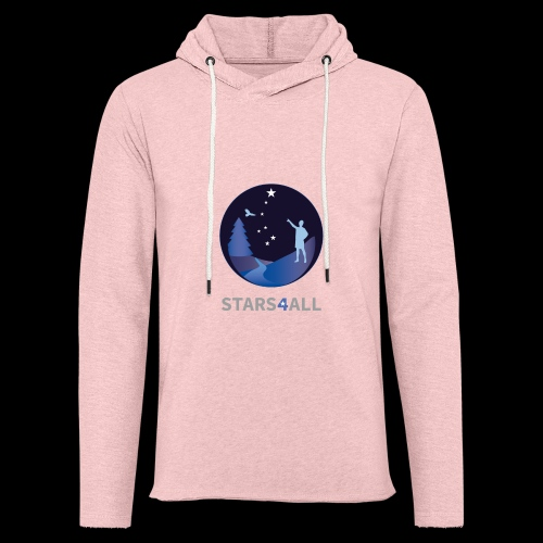Stars4All - Sudadera ligera unisex con capucha
