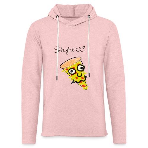 spaghetti trui - Lichte hoodie unisex