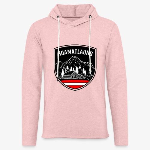 Hoamatlaund logo - Leichtes Kapuzensweatshirt Unisex