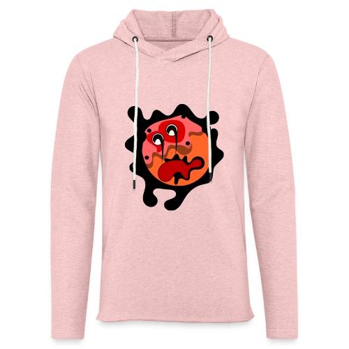 scary cartoon - Lichte hoodie unisex