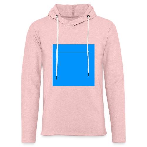 sklyline blue version - Sweat-shirt à capuche léger unisexe