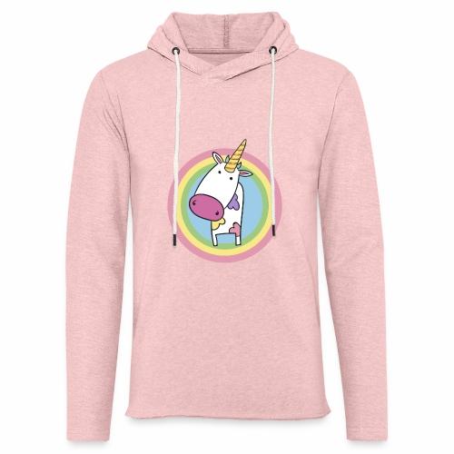 MilkCorn - Sweat-shirt à capuche léger unisexe