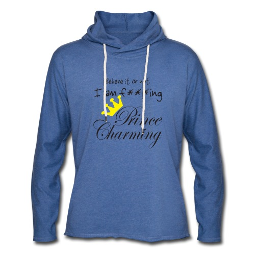 Prince Charming - Leichtes Kapuzensweatshirt Unisex