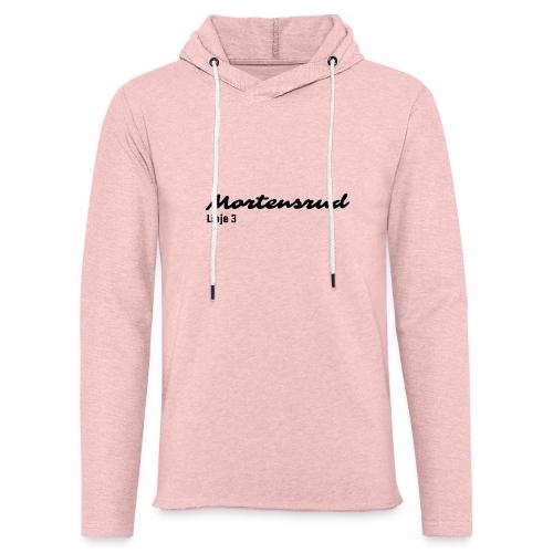 Linje 3 - Lett unisex hette-sweatshirt